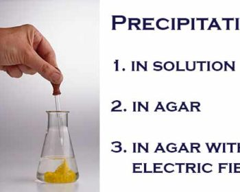 Types of Precipitation Reactions