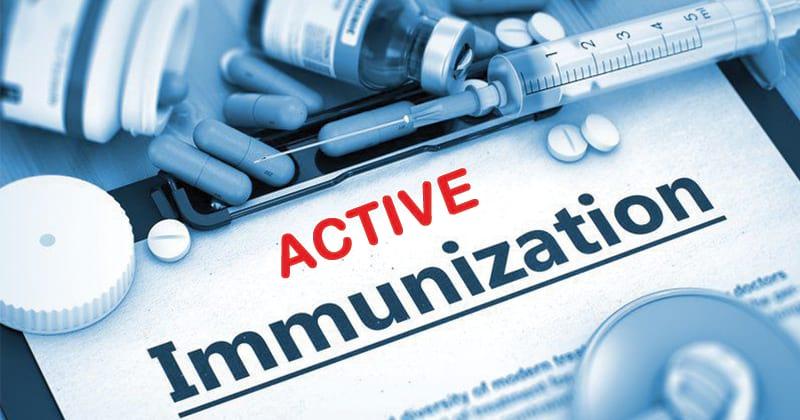 Active Immunization- Advantages and Drawbacks