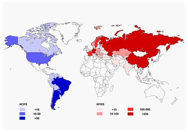 Epidemiology ofHanta Virus