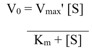 Michaelis–Menten equation