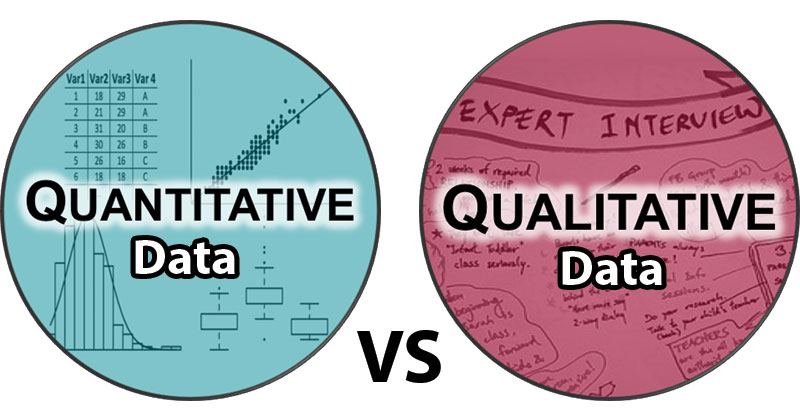 Difference between Quantitative and Qualitative Data