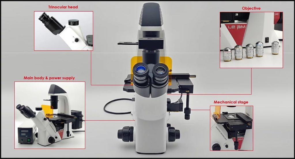 Fluorescence Microscope parts