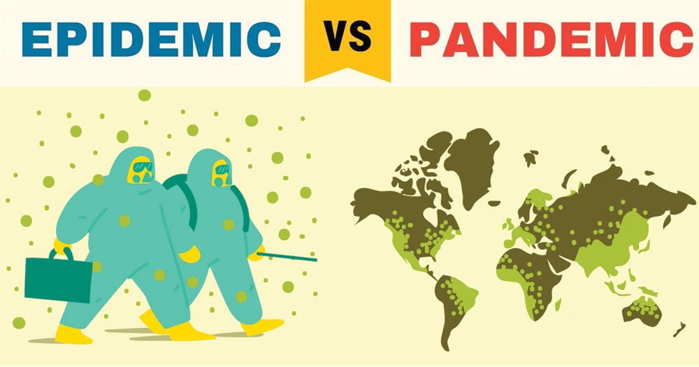 Epidemic vs Pandemic with Definition and Examples