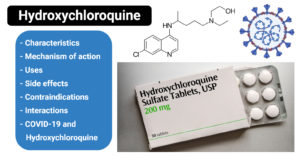 Hydroxychloroquine- uses, side effects, interactions & COVID-19