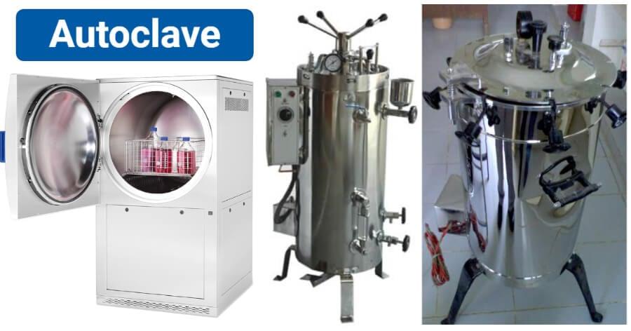 Autoclave- definition, parts, principle, procedure, types, uses