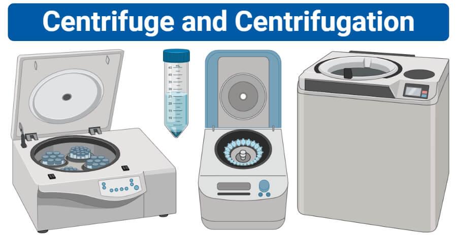 Types of Centrifuge and Centrifugation