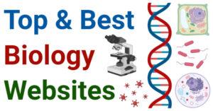 Top and Best Biology Websites or Blogs