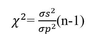 Chi-square test formula