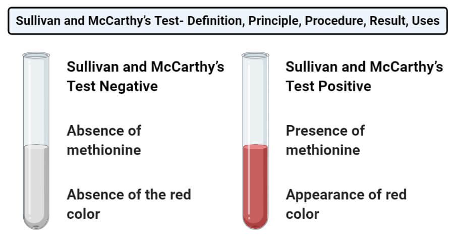 Sullivan and McCarthy's Test