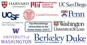 Microbiology Universities in the United States
